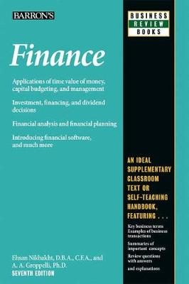 Finance - Barron's Business Review Series (Paperback)