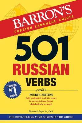 501 Russian Verbs - Barron's 501 Verbs (Paperback)