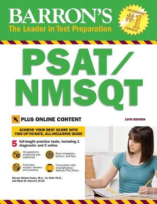 Barron's PSAT/NMSQT with Online Tests (Paperback)
