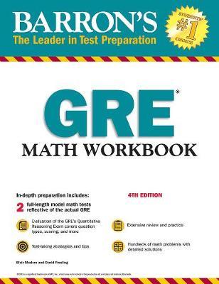 GRE Math Workbook - Barron's Test Prep (Paperback)