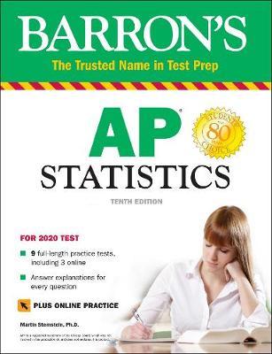 Barron's AP Statistics with Online Tests - Barron's Test Prep (Paperback)