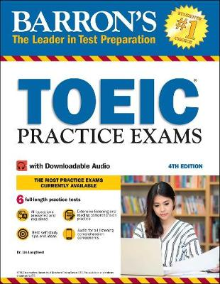 TOEIC Practice Exams: With Downloadable Audio - Barron's Test Prep (Paperback)