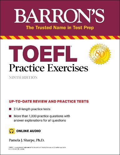 TOEFL Practice Exercises - Barron's Test Prep (Paperback)