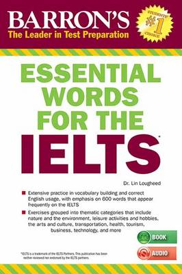 Essential Words for the IELTS with MP3 CD - IELTS (Paperback)