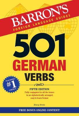 501 German Verbs (Paperback)