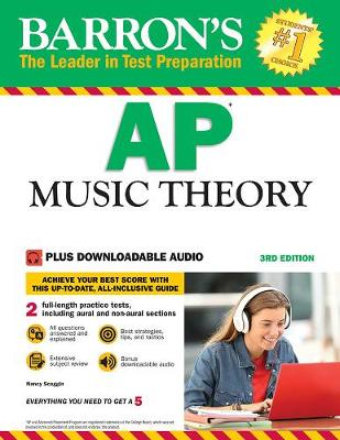 Barron's AP Music Theory: with Downloadable Audio Files (Paperback)