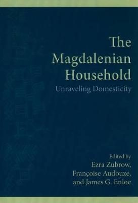 The Magdalenian Household: Unraveling Domesticity - SUNY Series, The Institute for European and Mediterranean Archaeology Distinguished Monograph Series (Paperback)