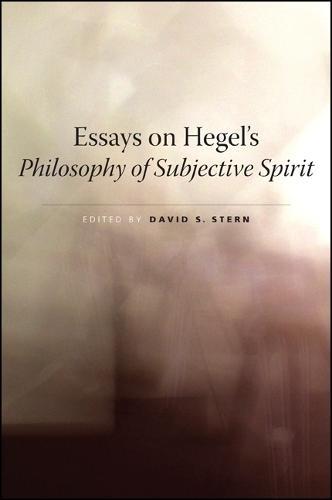 Essays on Hegel's Philosophy of Subjective Spirit (Paperback)