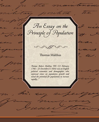 An Essay on the Principle of Population (Paperback)