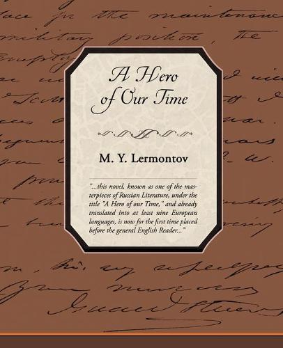 A Hero of Our Time (Paperback)