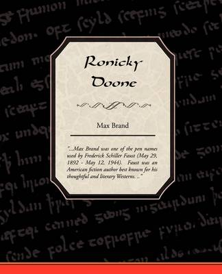 Ronicky Doone (Paperback)