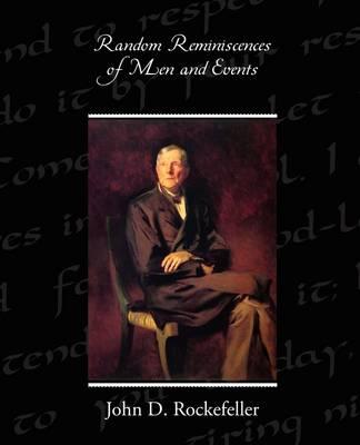 Random Reminiscences of Men and Events (Paperback)