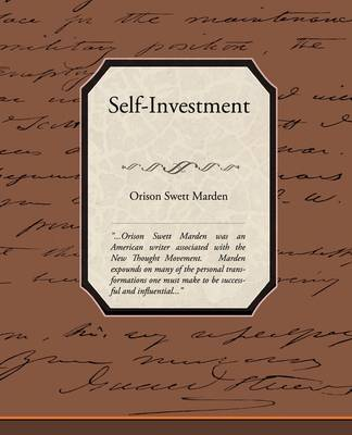 Self-Investment (Paperback)