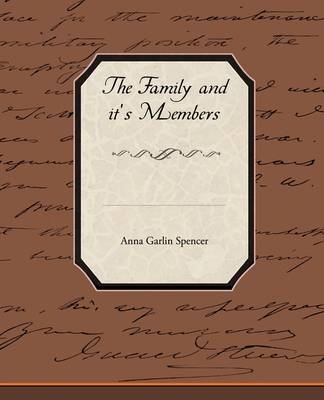 The Family and It's Members (Paperback)