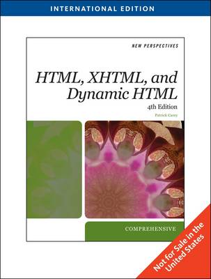 New Perspectives on HTML, XHTML, and Dynamic HTML: Comprehensive (Spiral bound)