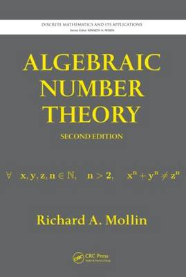 Algebraic Number Theory - Discrete Mathematics and Its Applications (Hardback)