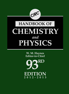 CRC Handbook of Chemistry and Physics (Hardback)