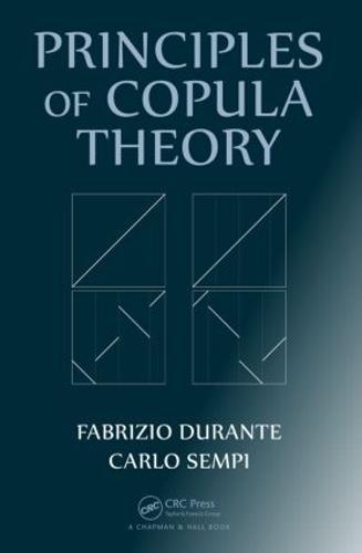 Principles of Copula Theory (Hardback)