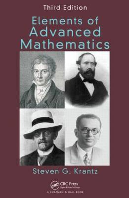 Elements of Advanced Mathematics, Third Edition - Textbooks in Mathematics (Hardback)