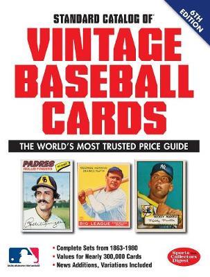 Standard Catalog of Vintage Baseball Cards (Paperback)