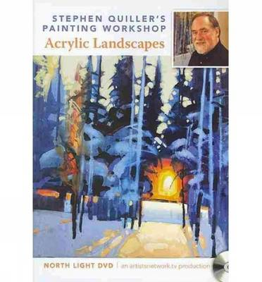 Stephen Quiller's Painting Workshop - Acrylic Landscapes (DVD video)