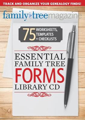 Essential Family Tree Forms Library (CD-ROM)