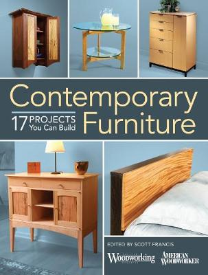 Contemporary Furniture: 17 Elegant Projects You Can Build (Paperback)