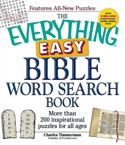 The Everything Easy Bible Word Search Book: More than 200 inspirational puzzles for all ages - Everything (R) (Paperback)