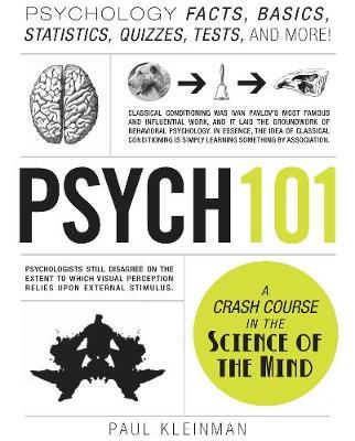 Psych 101: Psychology Facts, Basics, Statistics, Tests, and More! - Adams 101 (Hardback)