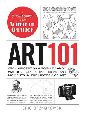 Art 101: From Vincent van Gogh to Andy Warhol, Key People, Ideas, and Moments in the History of Art (Hardback)