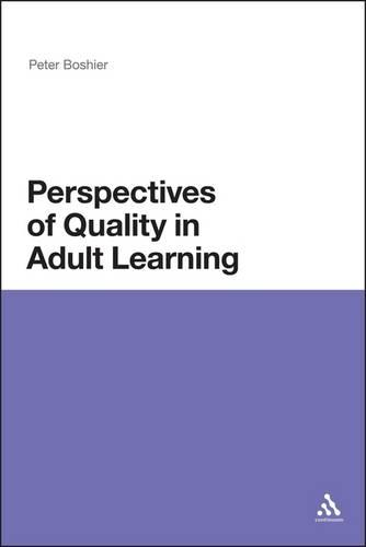 Perspectives of Quality in Adult Learning (Paperback)