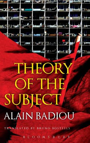 Theory of the Subject (Paperback)