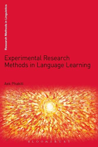 Experimental Research Methods in Language Learning - Research Methods in Linguistics (Paperback)