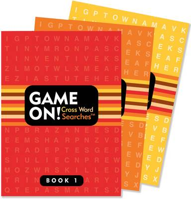 Game On! Puzzle Books Crossword Search