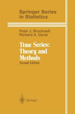 Time Series: Theory and Methods - Springer Series in Statistics (Paperback)