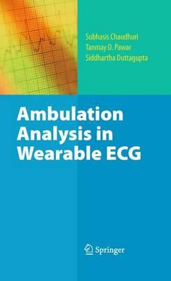 Ambulation Analysis in Wearable ECG (Hardback)