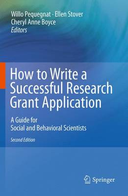 How to Write a Successful Research Grant Application: A Guide for Social and Behavioral Scientists (Paperback)