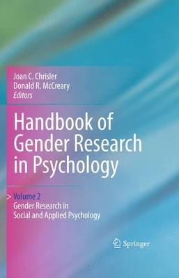Handbook of Gender Research in Psychology (Hardback)