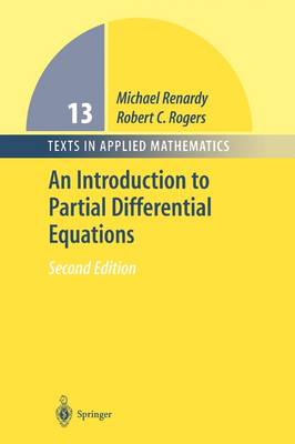 An Introduction to Partial Differential Equations - Texts in Applied Mathematics 13 (Paperback)