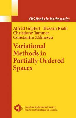 Variational Methods in Partially Ordered Spaces - CMS Books in Mathematics (Paperback)