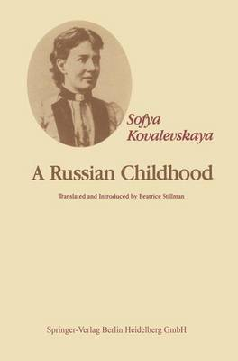 A Russian Childhood (Paperback)