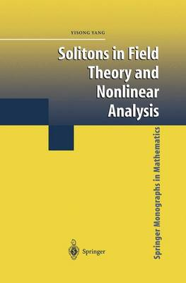Solitons in Field Theory and Nonlinear Analysis - Springer Monographs in Mathematics (Paperback)
