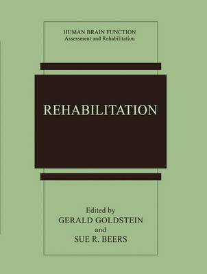 Rehabilitation - Human Brain Function: Assessment and Rehabilitation (Paperback)