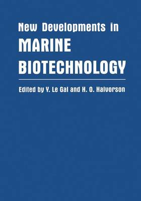 New Developments in Marine Biotechnology (Paperback)