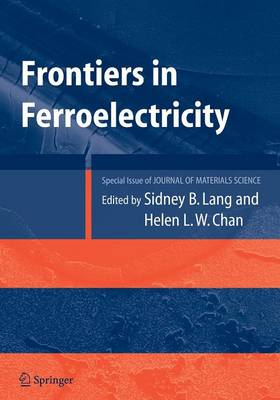 Frontiers of Ferroelectricity: A Special Issue of the Journal of Materials Science (Paperback)