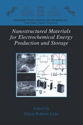 Nanostructured Materials for Electrochemical Energy Production and Storage - Nanostructure Science and Technology (Paperback)