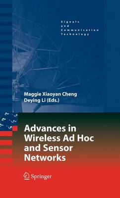 Advances in Wireless Ad Hoc and Sensor Networks - Signals and Communication Technology (Paperback)