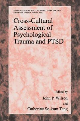 Cross-Cultural Assessment of Psychological Trauma and PTSD - International and Cultural Psychology (Paperback)