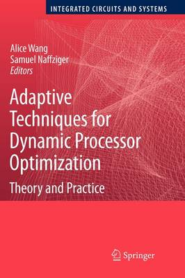 Adaptive Techniques for Dynamic Processor Optimization: Theory and Practice - Integrated Circuits and Systems (Paperback)