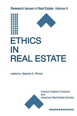 Ethics in Real Estate - Research Issues in Real Estate 5 (Paperback)